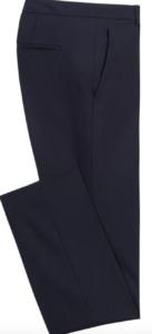 Pantalon bleu marine affine hanches