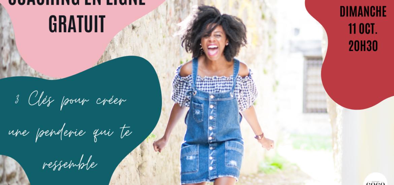 Atelier en ligne Coaching Créer une penderie qui te ressemble